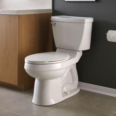 american standard champion 4 chair height 2piece 16 gpf single flush elongated toilet in white