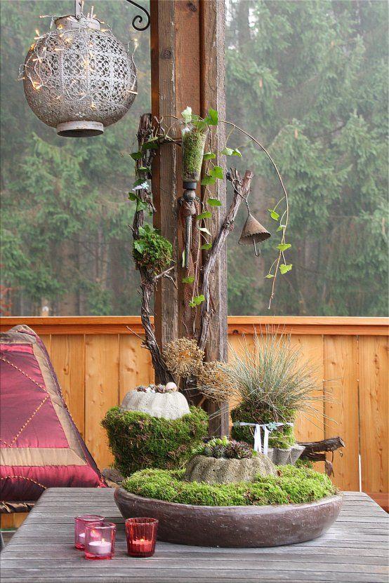 ber ideen zu moosgarten auf pinterest adachi. Black Bedroom Furniture Sets. Home Design Ideas