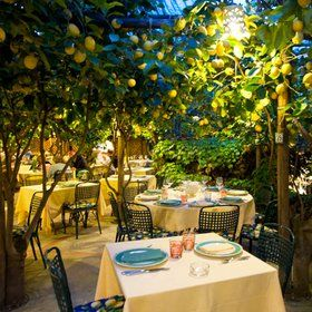 Eat: Da Paolino Lemon Trees Restaurant - Via Palazzo a Mare, 11, 80073, Capri NA Set in a fragrant lemon grove, this is the most stunning place to eat al fresco. The owner's parents originally brought it as a plot of land in the fifties and it has slowly evolved into an incredible 200-cover restaurant. The lemon ravioli and signature grilled lemon chicken were fantastic.