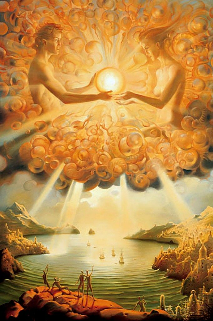 ✣ ...Divinity wishes to experience life through You... ✣ Jean Houston arTist; Vladimir Kush ☯