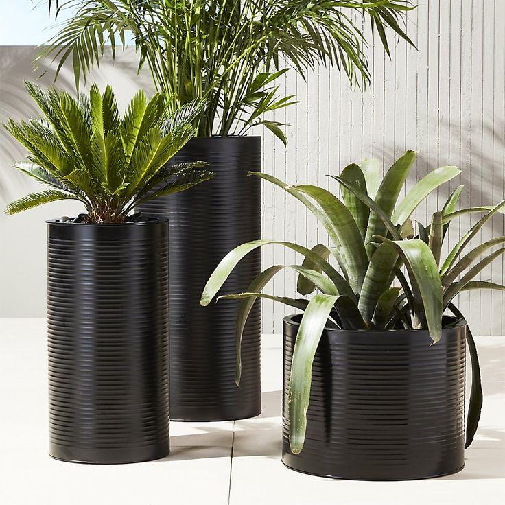 Best 25 Patio Planters Ideas On Pinterest: Best 25+ Black Planters Ideas On Pinterest