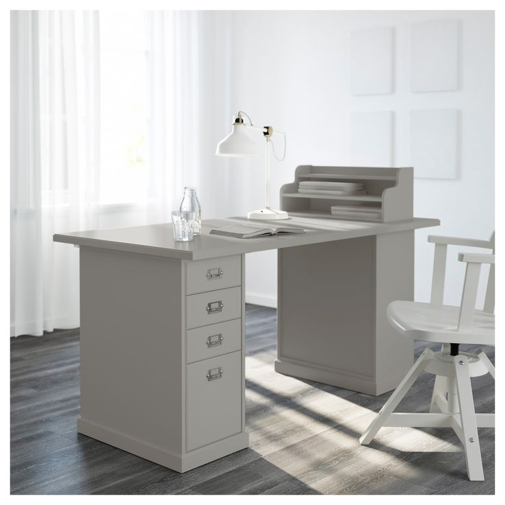 IKEA - KLIMPEN, Drawer unit, , Can be placed anywhere in the room because the back is finished.Drawer stops prevent the drawers from being pulled out too far.Slot for a label on each drawer so you can easily keep things organized and find what you are looking for.