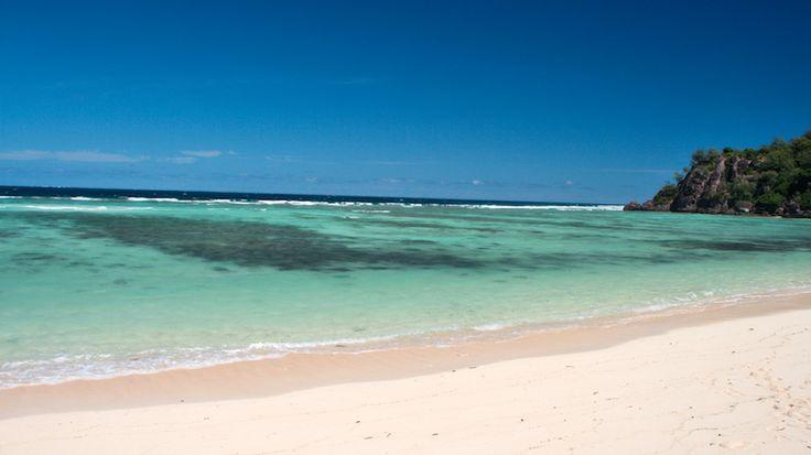 Modriki Island, Fiji. Ever seen the movie Castaway? Modriki was the filming location for the Tom Hanks flick.