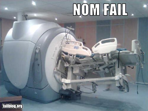 mri machine accidents