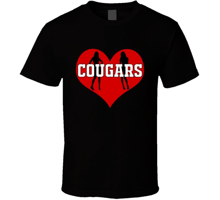 Cougars  heartT Shirt