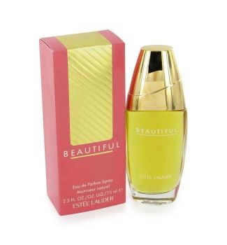 Beautiful by Estee Lauder:  A Blend Of Blooming Fresh Cut Flowers, Rose, Jasmine, And Carnation. Accompanied By Fruity Notes Of Fresh Citrus, Melons, Peaches And Plums. It Is Recommended For Daytime Wear.