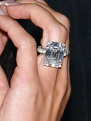 Victoria Beckham's engagement ring