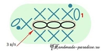Цветущая ВИШНЯ крючком. Схемы вязания (3)