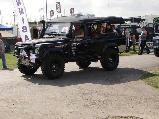 Richard Hammond's Land Rover Defender 110 | My dream garage ...