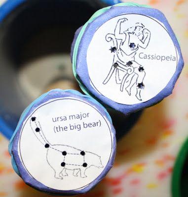 Little Dues: Manualidades - Mirar las constelaciones