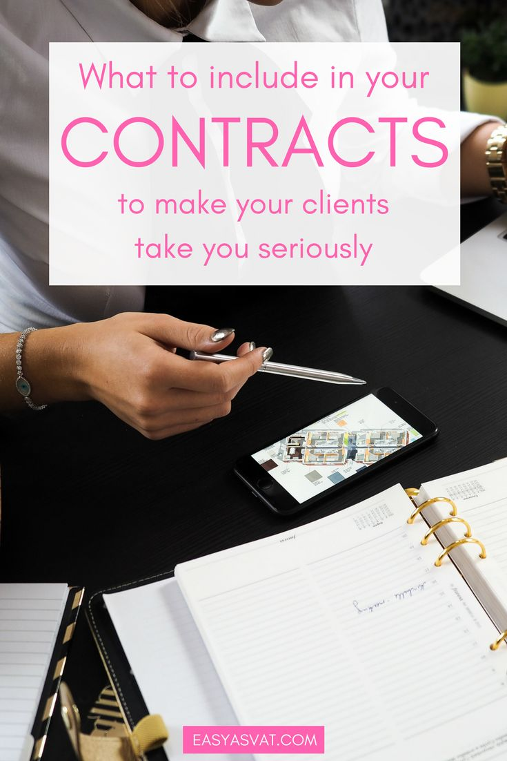 Freelance business contract work template | Easy As VAT | tax, accountancy and bookkeeping tips, advice and services for freelancers, bloggers and small businesses