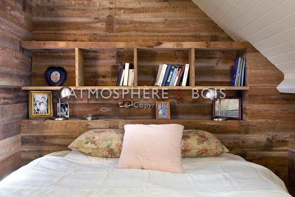 Importateur bois ancien vente bois ancien atmosphere et for Maison bois sur mesure