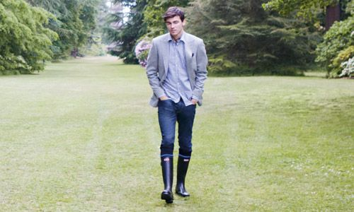 I want Hunter rainboots, okay? So, someone's gonna need to make that happen. Thanks.