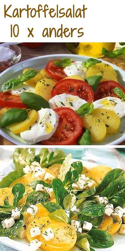 Wann gibt's das nächste Mal Kartoffelsalat? Hier findet ihr auf jeden Fall passende Rezepte: http://www.bildderfrau.de/rezepte/kartoffelsalat-d38984.html  #kartoffelsalat