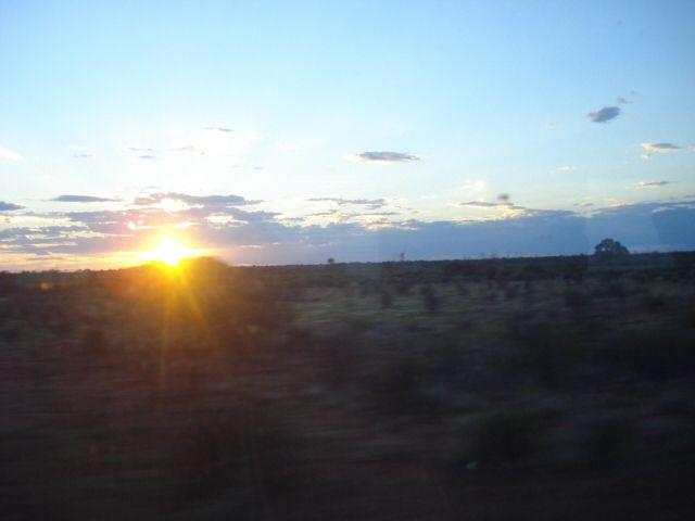 Sunset south aust