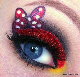 minnie make up