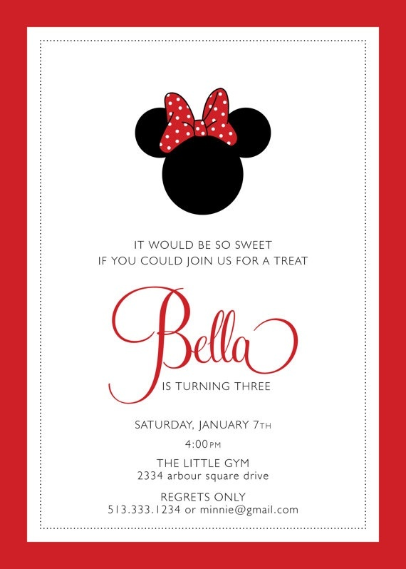 1000 Images About Minnie Mouse Party Ideas On Pinterest