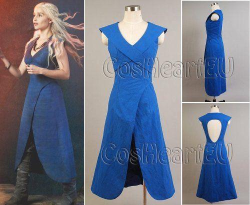 Game of Thrones Daenerys Targaryen Costume robe (Femme M)