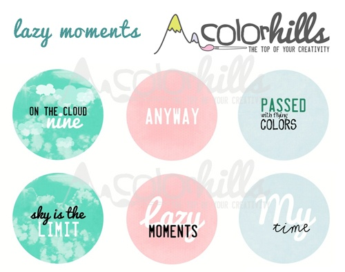 collection: lazy moments