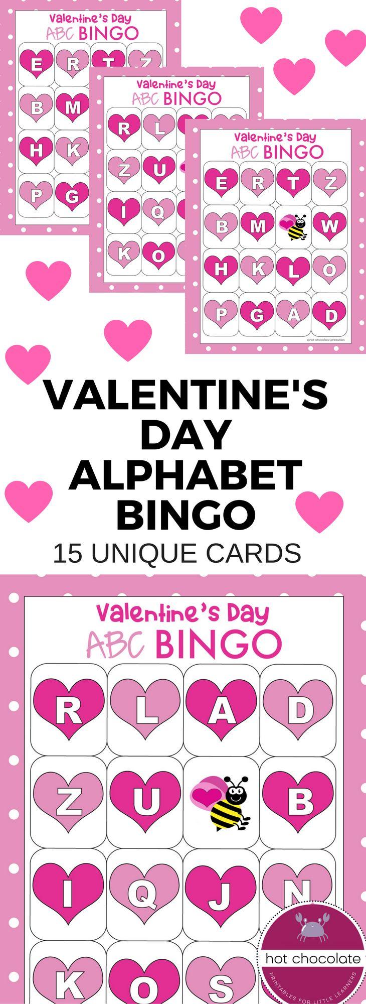 Best 25 Alphabet bingo ideas on Pinterest  Abc bingo Letter