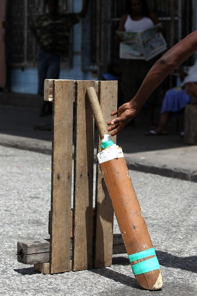 Street Cricket In Guyana