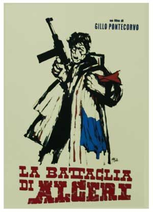 One of the most influential political films in history, The Battle of Algiers, by Gillo Pontecorvo, vividly re-creates a key year in the tumultuous Algerian struggle for independence from the occupying French in the 1950s.