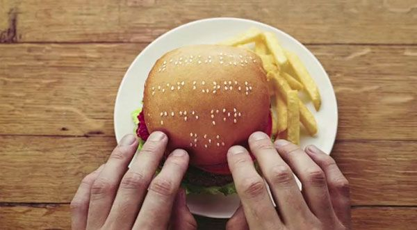 In an attempt to spread the word about their braille menus at all of their restaurants, Wimpy has released a fun marketing effort that chronicles the ...