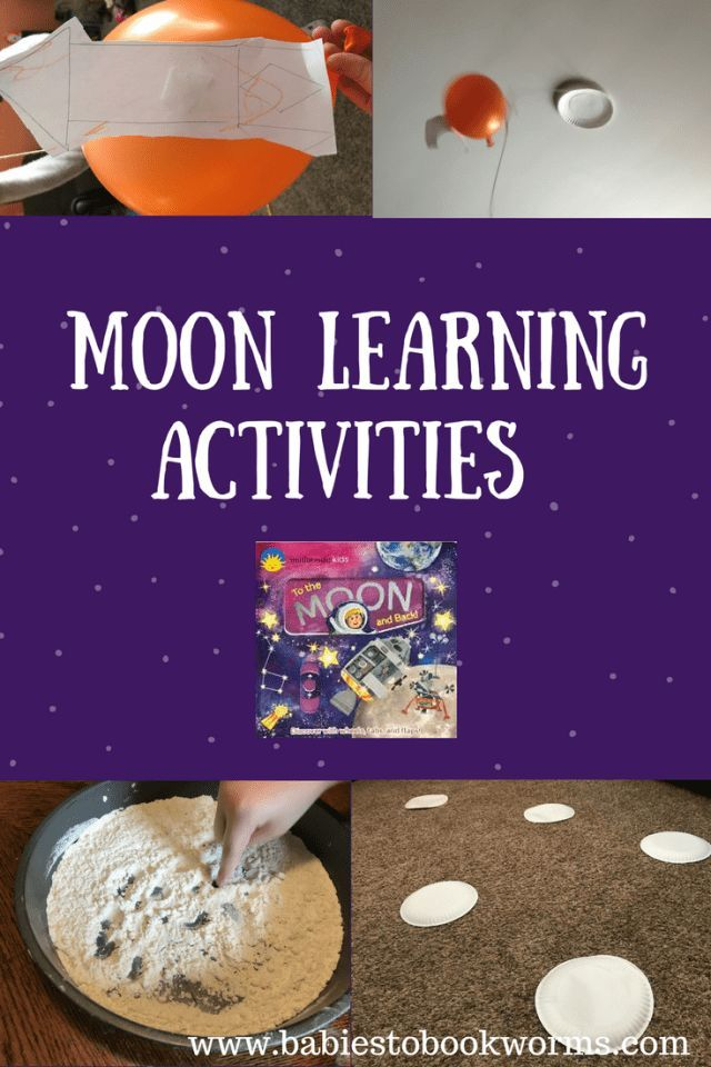 Moon Learning Activities