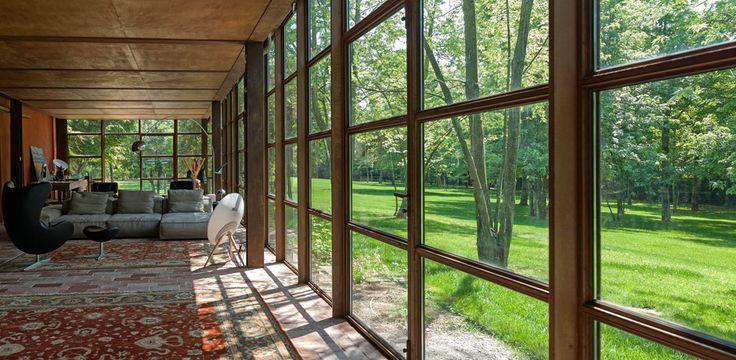 17 best ideas about cor ten on pinterest steel fence for Ouverture fenetre mur porteur