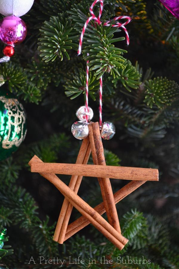 Cinnamon Star Ornaments - A Pretty Life In The Suburbs