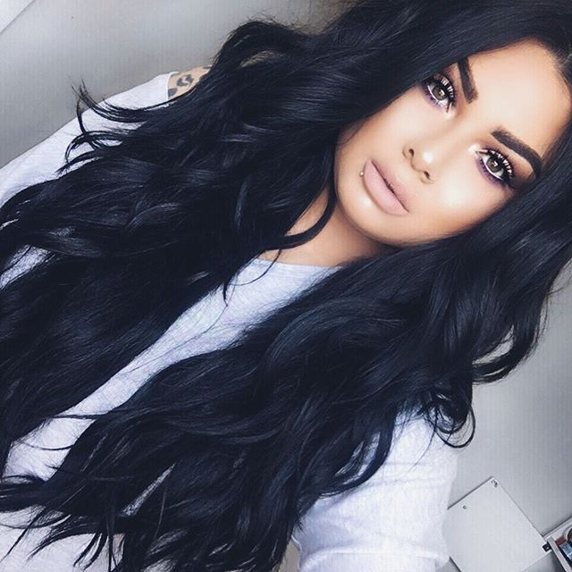 Image Result For Dark Long Hairstyles