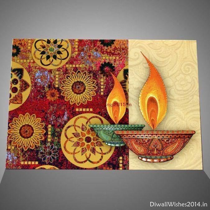 Simple Easy Diwali Handmade Cards Idea Shubh Deepavali