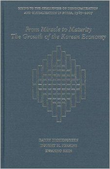 From miracle to maturity : the growth of the Korean economy / Barry Eichengreen, Dwight H. Perkins, and Kwanho Shin. -- Cambridge ;  London :  Harvard University Asia Center,  2012.