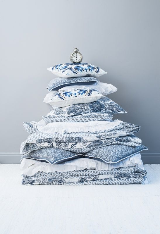 Everyday Sängkläder Indigo Påslakan dubbel - Odd Molly - Dennys Home