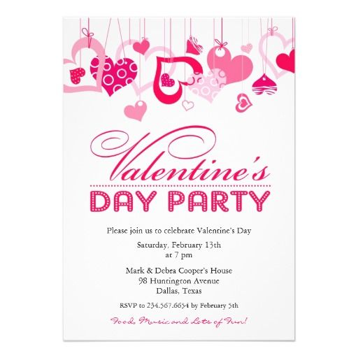 107 best Valentines Day Invitations images on Pinterest - valentines day invitations