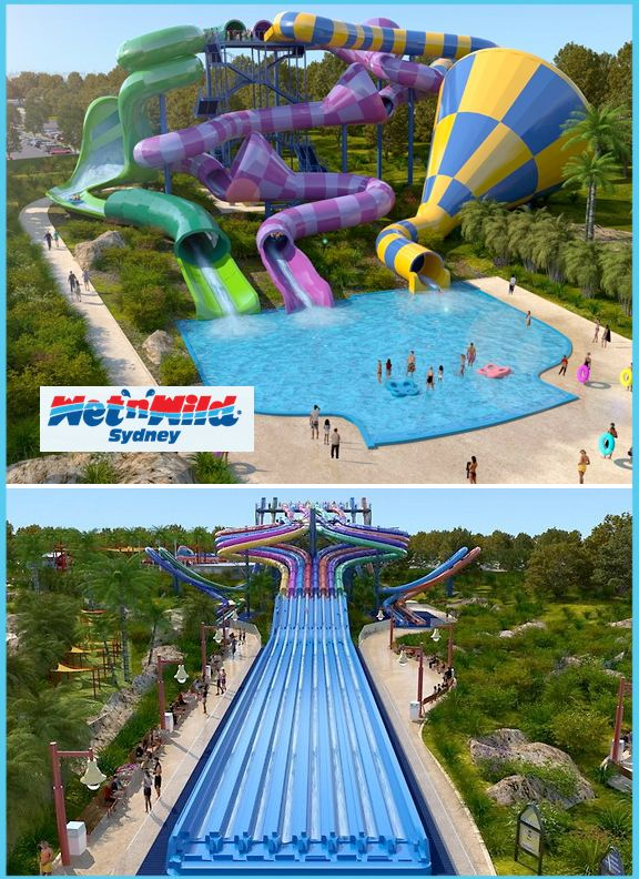 Wet N Wild Sydney Australia Water Park Coming Soon You Can See A Video