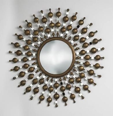 Mirror on pinterest for Floor mirror italian baroque rococo style in lacquer finish