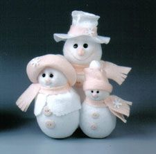 Creamsicle snow family