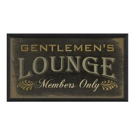 Gentleman's lounge    for my husbands room