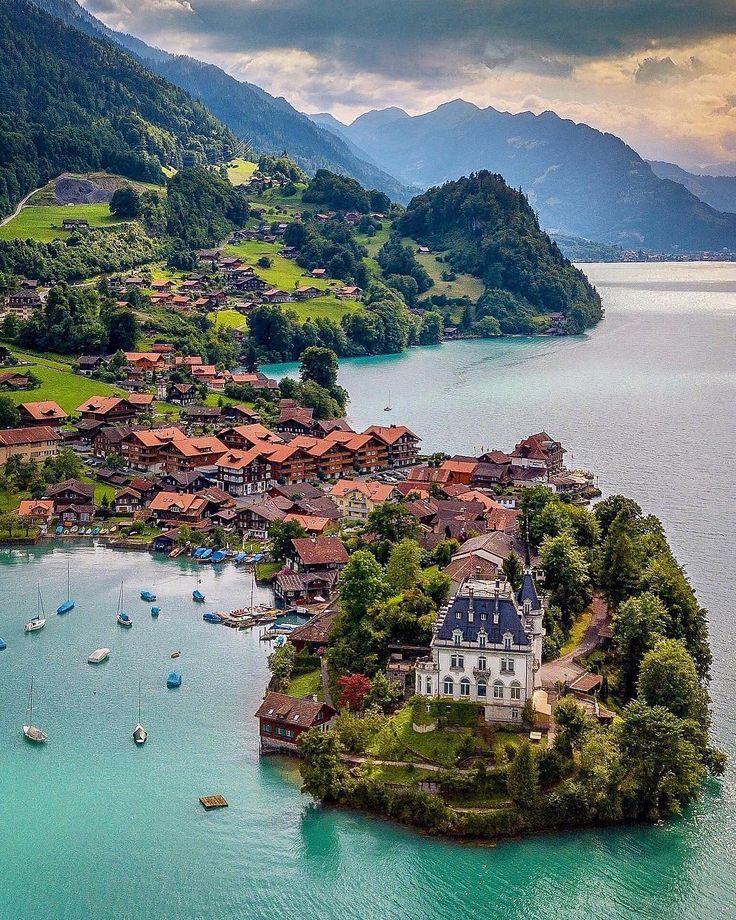 красивые места швейцарии картинки подсветки