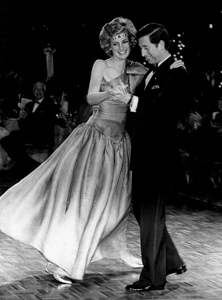 October 30, 1985: Prince Charles and Princess Diana at a Charity ball held at the Southern Cross Hotel, Wednesday, Melbourne, Australia. They could have danced all night.
