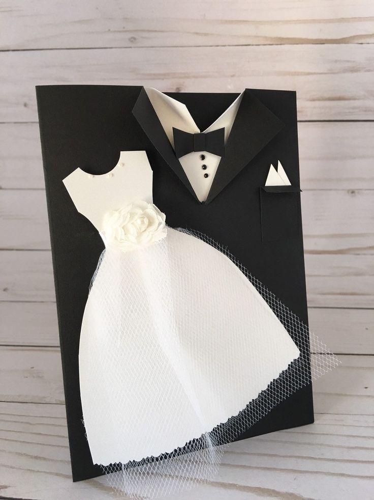 открытка смокинг и платье юмор