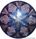Custom Mosaic Mandala on Etsy, $1,000.00 AUD