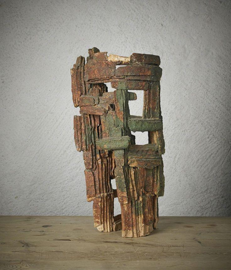 Hertha Hillfon, Skulptur Abstract, 1960, Hostler Burrows
