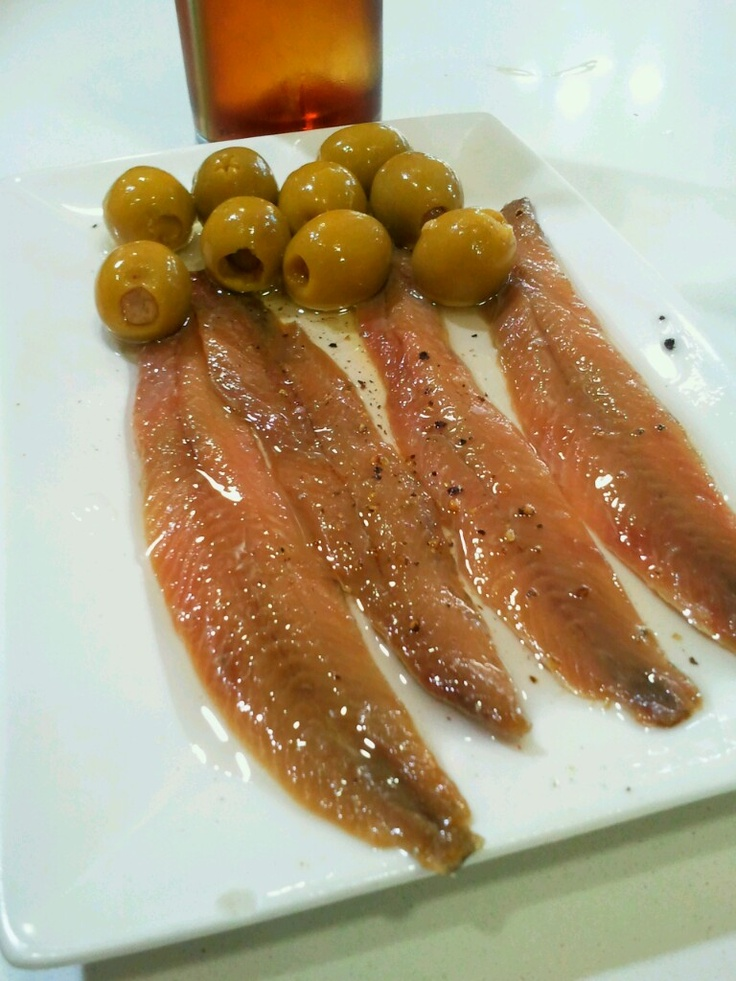 anchovies+vermouth