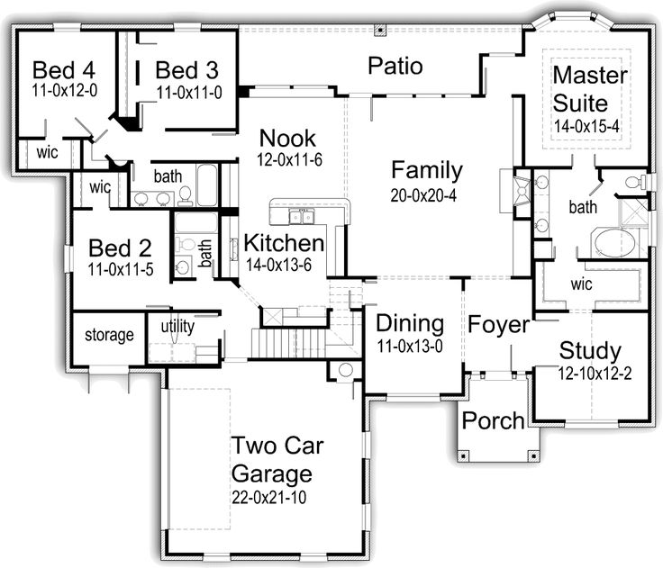 House Plans by Korel Home Designs I like it!