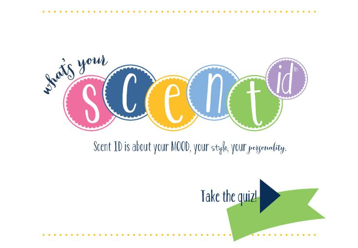 Take this FUN SCENT test to see what YOUR FAV MAY BE - then go and get it from jennyhoward.mygc.com