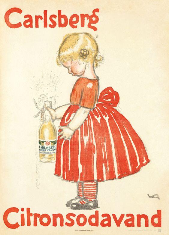 VALDEMAR ANDERSEN - CARLSBERG CITRONSODAVAND (1908)