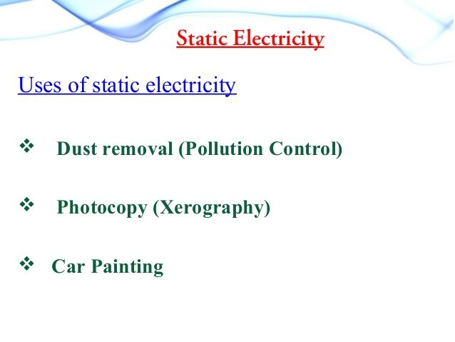 Uses For Static Electricity In Car Painting