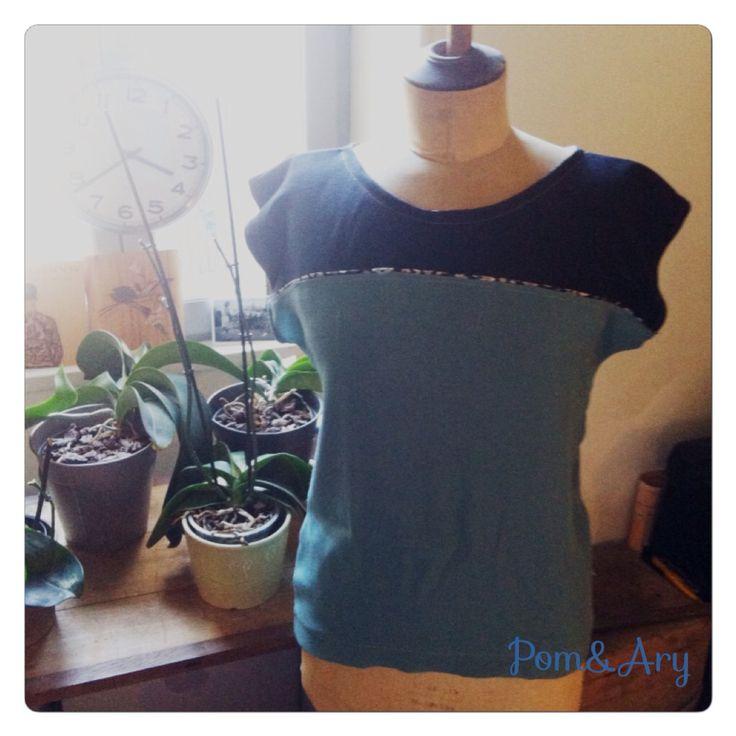 Pom&Ary#DIY#creation#blouse